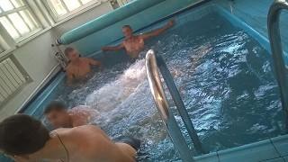 Мы запустили бассейн