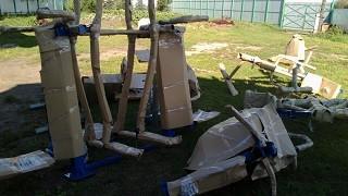 Подготовка площадки для тренажеров
